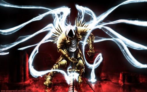 Transformação do cavaleiro teutônico em anjo